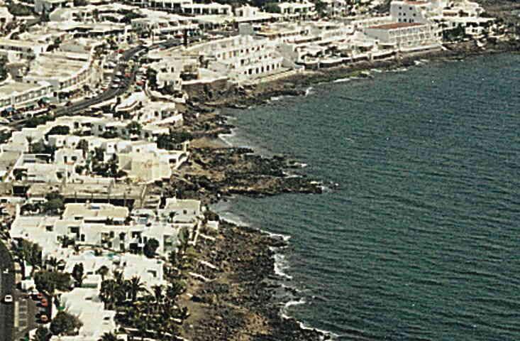 Las mejores playas de Lanzarote, imagen de la playa de La Peña Del Dice